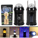 Lamp flashlight Powerbank Camping lamp black