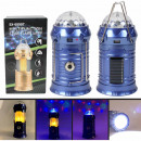 Lamp flashlight Powerbank Camping lamp blue