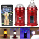 Lamp flashlight Powerbank Camping lamp red