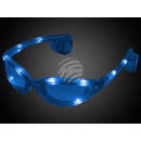 LED goggles blue Design: Sports glasses