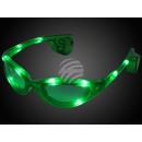occhiali LED verde Sport