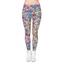 Ladies motive leggings, leggings, stretch pants