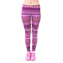 Ladies motive  leggings,  leggings, stretch ...