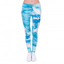 ingrosso Pantaloni: Donna Leggings  motivo batik  modello lettering ...