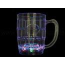 Bicchiere trasparente LED Forma: bicchiere da birr