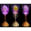 groothandel Verlichting: Wijnglas Funglas  flitser met gezicht afdruk