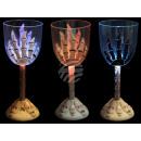 groothandel Verlichting: Wijnglas Funglas  knipperen met de vinger afdruk