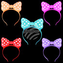LED assorted bow tie 5 colored assorted
