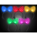 LED luminous headband sorted dotted fly