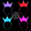 wholesale Toys: LED assorted crowns 4 pieces assorted