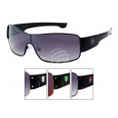 LOOX sunglasses Bahonas X emblem on frame