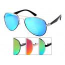 grossiste Vetement et accessoires: LOOX lunettes de soleil Miami lentilles miroitante