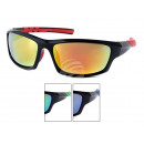 LOOX sunglasses Roma dual color sport glasses