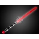LED Leuchtschwert  Leuchtschwert schwarz chrom