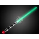 Großhandel Spielwaren: LED Leuchtschwert Leuchtschwert schwarz chrom