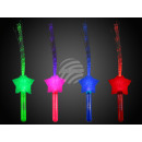 Bacchetta luminosa LED Assortimento stella con fib