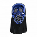 Carnival mask blue horror