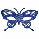 Maschera Maschere Carnevale Carnevale Farfalla blu
