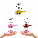 Magic Flying Induction Helicopter Infrared gesture