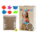 Magical sandy brown 400g with 6 shapes in Practica