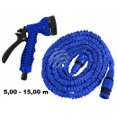 wholesale Garden Equipment: Magical garden  hose blue approx 5,00m - 15,00m