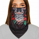 Mouthguard multituch black skull