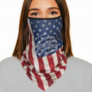 wholesale Gifts & Stationery: Mouthguard multitask multicolor flag USA