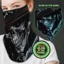 Großhandel Drogerie & Kosmetik: Mundschutz Tuch Multituch Glow in the dark