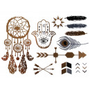 Metal Tattoo Flash  Tattoos gold metallic silver