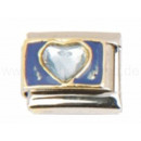 Italian Charm bracelet designs with stone