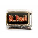 ingrosso Beads & Charms: Braccialetto Charms con scritta pz Pauli