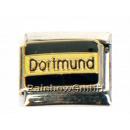 ingrosso Beads & Charms: Braccialetto Charms con scritta Dortmund argento
