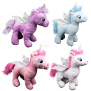 Peluche Unicorn Unicorn rosa, viola, azzurro