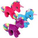 ingrosso Giocattoli: Peluche blu  Unicorn Unicorn, viola, rosso