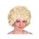 Afro - Peruecke blond