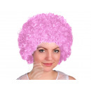 Afro - Peruecke light pink