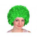 Afro - Peruecke grün