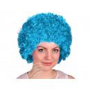 Afro - Peruecke blau-tuerkis