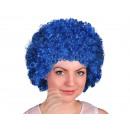 Afro - Peruecke dark blue