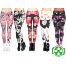 wholesale Trousers: Starter Package Leggings Mix Flowers