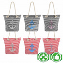 Shopper carrying bag with anchor 8 maritime models