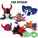 Starter Package 100 pieces assorted Mardi Gras hat