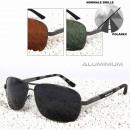 POLAREX sunglasses pilot glasses polarized aluminu