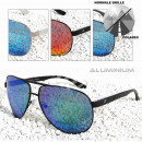 POLAREX napszemüveg pilóta szemüveg polarizált alu