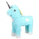 Pinata unicorn light blue