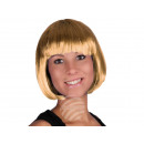 Short hair wig with blond bob haircut