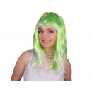 Smooth Longhair countries wig green-white