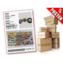 Posten mit ca. 13500 Stück Ansteck Buttons verschi