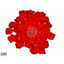 groothandel Kunstbloemen: Rozenblaadjes  Rozenblaadjes rood 100 stuks