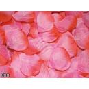 Großhandel Kunstblumen: Rosenblätter  Rosenblütenblätter rosa rot 500er Pac